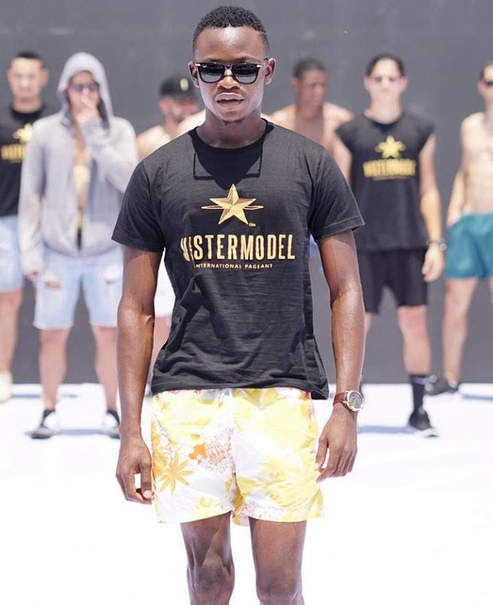 Photos of Nigerian rep at Mister Model International 2019,Somto Emmanuel