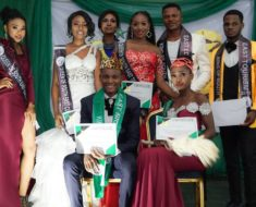 Victory Emeje and Charity ifeoma onu crowned King and Queen of South East Nigeria pageant 2019