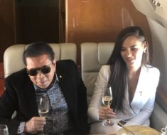 Photo of Catriona gray with Ilocos Sur governor Chavit