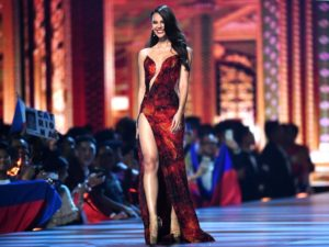 Best miss universe pageant gown