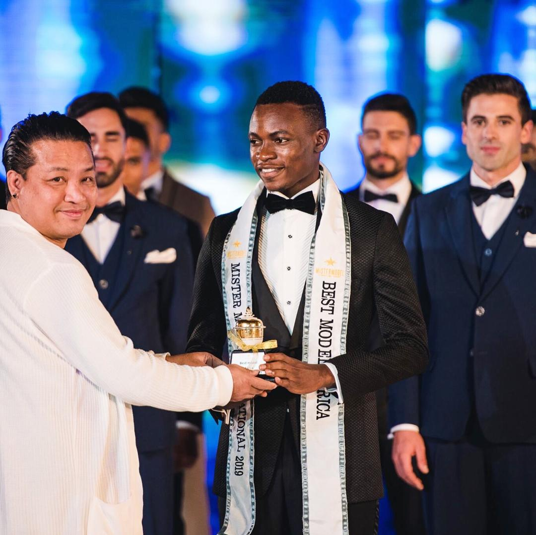 Nigeria's Rep, Emmanuel Somto makes history in Thailand, Crowned Mister Model intl Africa