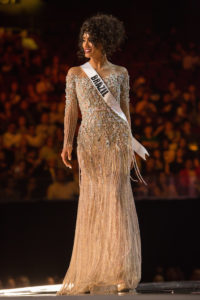 Miss universe Pageant gown sample