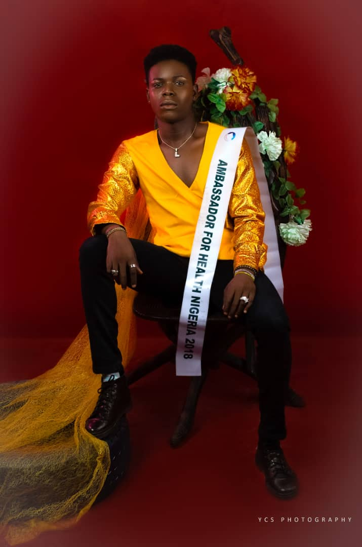 Exclusive interview with nigeria next rated male model Favour Alexis Aguiyi, Ambassador for Health Nigeria 2018