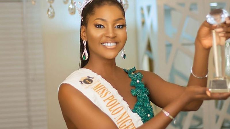 Breathtaking photos Precious Okoye, newly crowned Miss Polo Nigeria 2019.