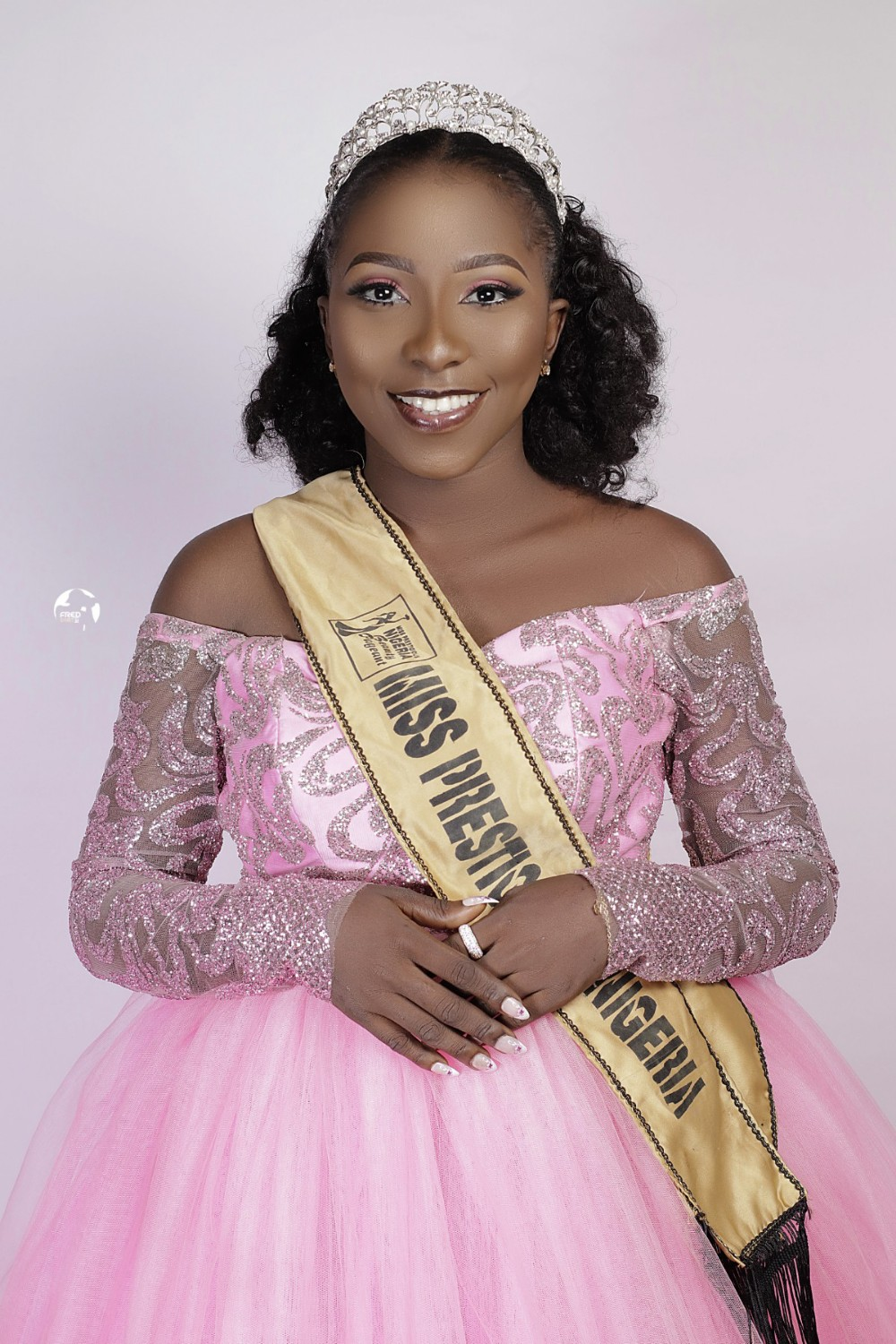 Adaeze Grace Okoro: Newly Crowned Miss Prestigious Nigeria stuns in official photoshoot