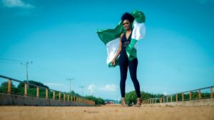 Afolabi Janet Face of Culture Nigeria independence day photo shoot