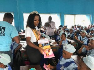 Queen Adaeze G Okoro educational campaign in Port-Harcourt
