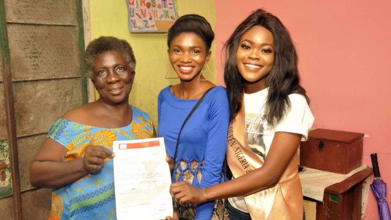 Charity Project: Miss Influential queen Nigeria visits Daisy Orphanage home,Yenogoa, Bayelsa
