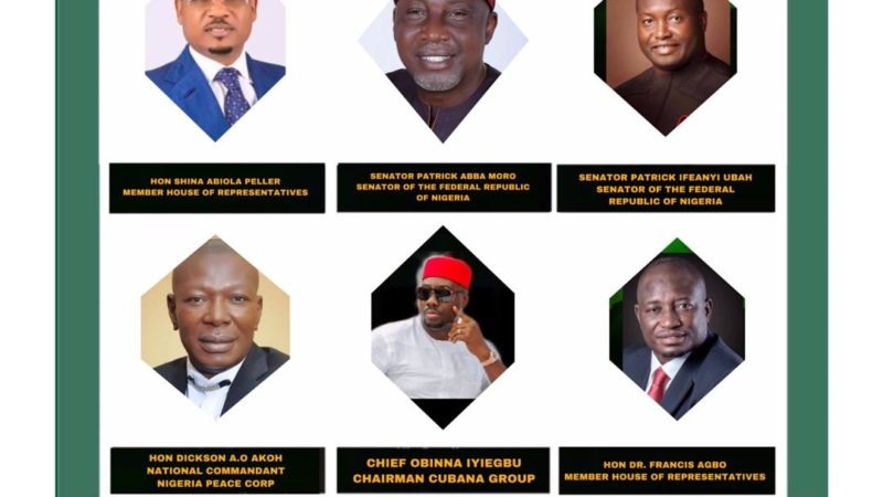 Hon. Shina Peller, senator Abba Moro,Senator Patrick ifeanyi ubah Others for 2019 Indigenous Award