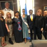 Current Miss Universe Zozibini Tunzi shares photos with the executive of UN Women