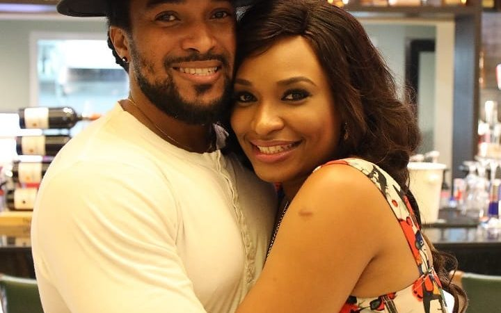 Mr Nigeria Bryan okwara and Miss earth Nigeria 2013 Marie Miller welcome their first child