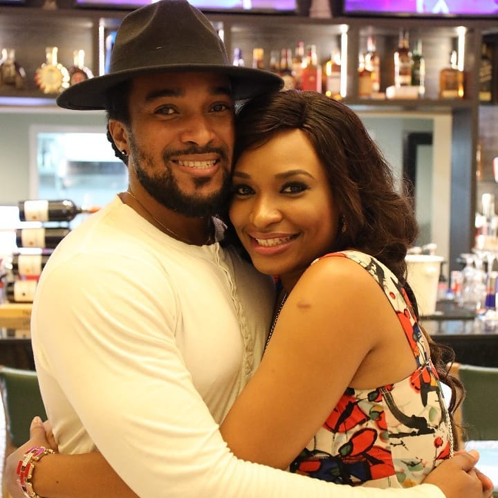 Former Mr Nigeria Bryan okwara and Miss earth Nigeria 2013 Marie Miller welcome their first child