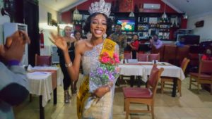 Nigerian model, Felicia Boco emerge Most Beautiful African Model 2020.