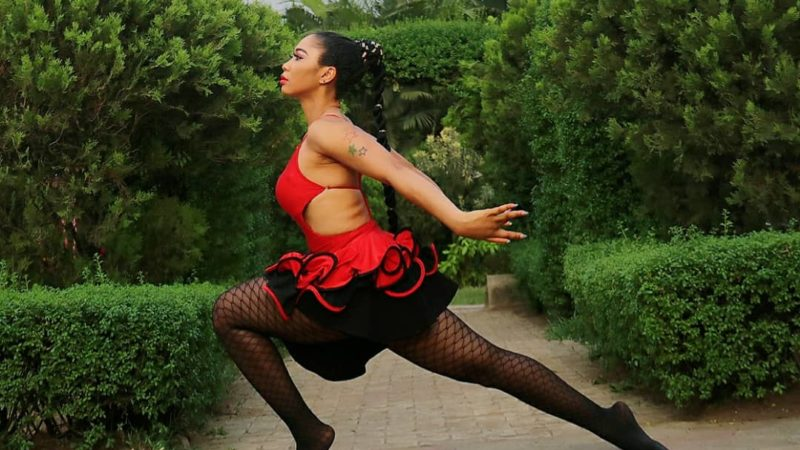 Nollywood actress Angel Samuda Mark birthday with adorable yoga-themed photoshoot