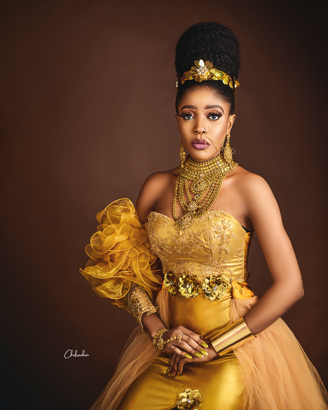 Miss Crystal Nigeria 2019, Chisom Okongwu marks birthday with Adorable photoshoot