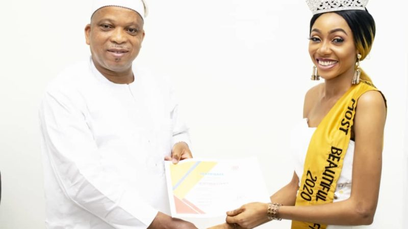 Top Nigerian model, Queen Felicia Boco Bags Juicy Endorsement deal with Summit Group Ltd