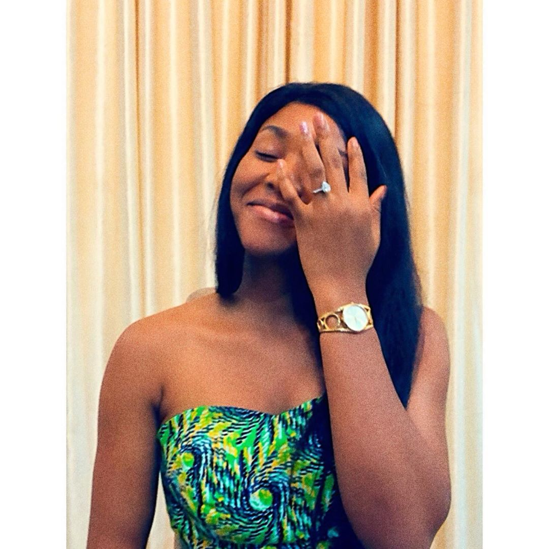 Ex miss Nigeria, Queen Chidinma Leilani Aaron is engaged, shares photos