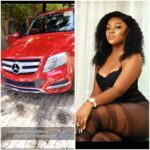 Ex beauty queen, Ruby Uche Flaunts New car on her 21st birthday.