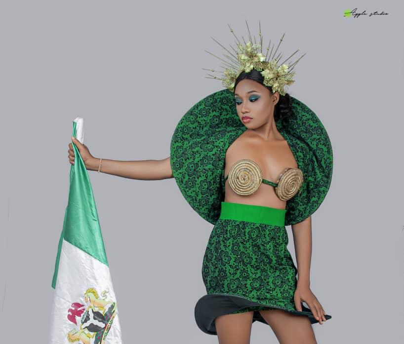 Stunning independence day themed photoshoot by Nigerian Beauty Queens