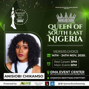 Queen of South East Nigeria Pageant 2020