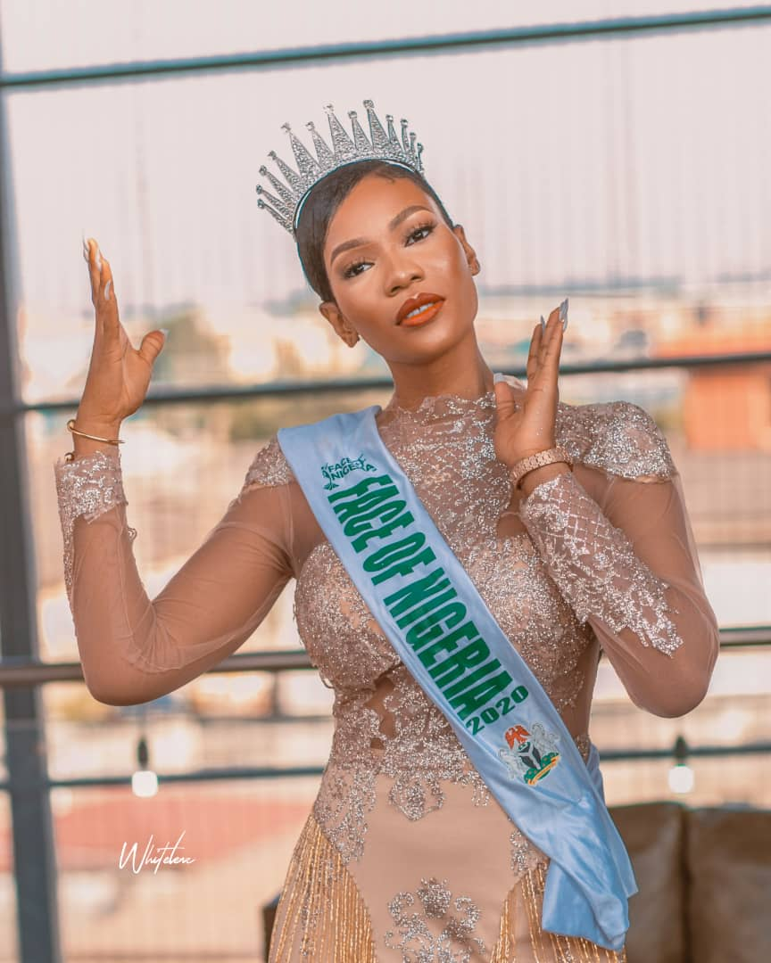 Miss Vivian Okpala crowned The New Face Of Nigeria 2020