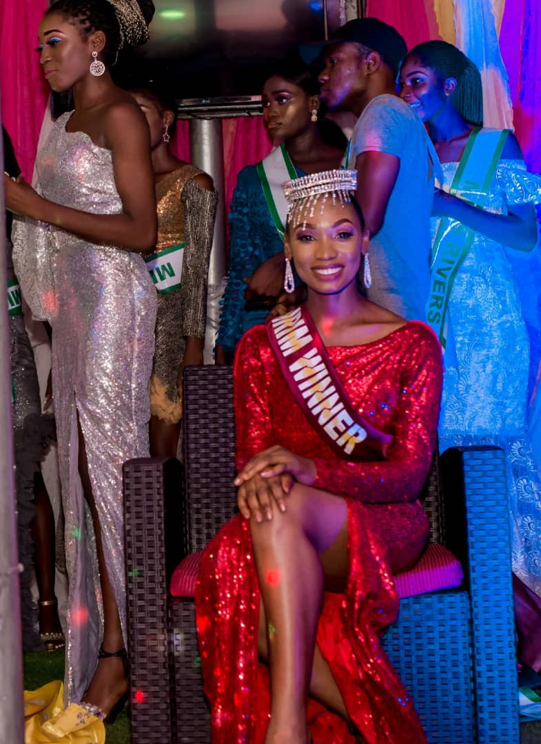 Edidiong Umoh, Newly Crowned Miss Next Rated International Model 2020 releases stunning New Year pictures