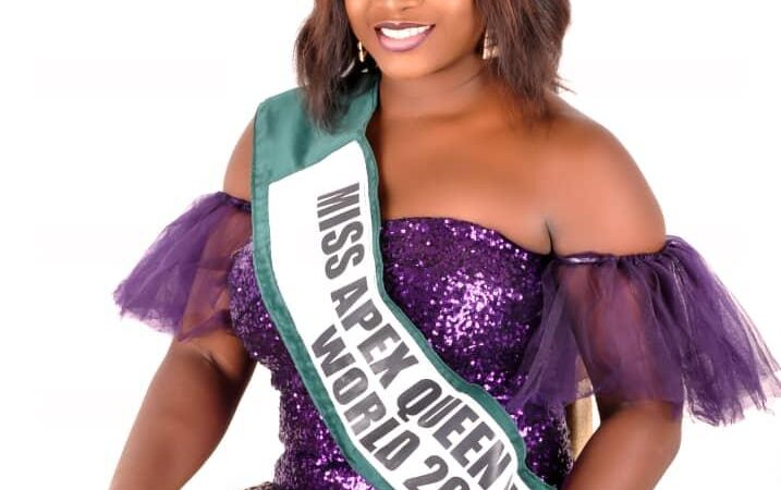 Miss Apex Queen Nigeria world 2020, Ene John unveils official shoots and projects