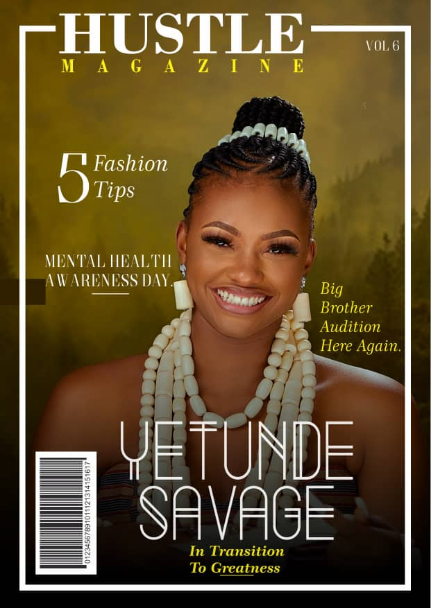 Queen Yetunde Savage marks birthday in style, launches her foundation on cover of hustle magazine