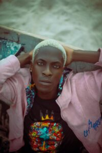 Omor ovie Frederick, Nigerian fast rising male model marks birthday with adorable shoots